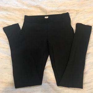 J. Crew Black Ponte Pants Sz 4